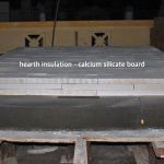 wood fired oven calcium silicate board hearth insulation