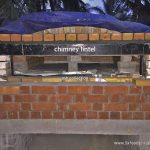 wood fired oven chimney lintel