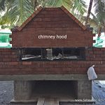 wood fired oven chimney hood
