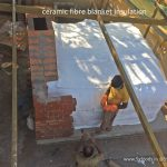 wood fired oven core ceramic fibre blanket insulation