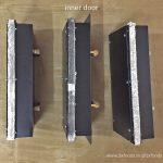 wood fired oven inner plug door