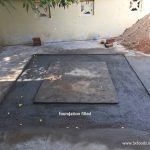 wood fired oven foundation