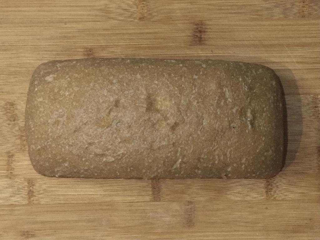 Whole wheat sourdough loaf