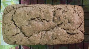 Banana brownie loaf cake